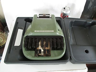 Court Stenograph Machine with Original Case