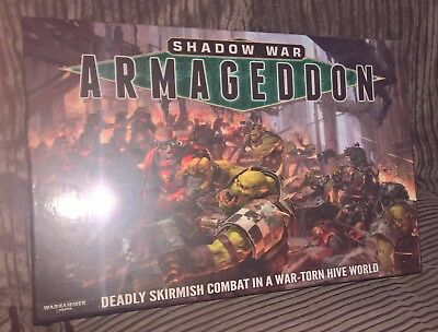 Shadow War Armageddon. Brand New Factory Sealed. out of production