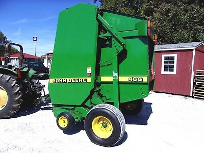 John Deere 466 Round Baler ----size 4x6, CAN SHIP @ $1.85 loaded mile