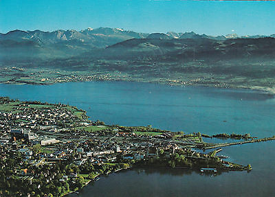 Rapperswill Switzerland Postcard used VGC