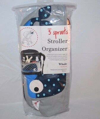 3 Sprouts Stroller Organizer, Whale -- Free Shipping