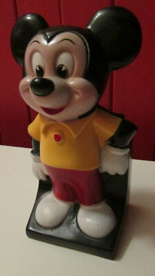 Vintage Disney Mickey Mouse bank play pal plastics inc. good condition