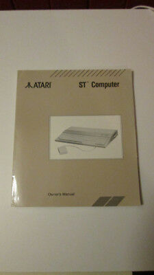 Atari ST Owners Manual good condition vintage computer book
