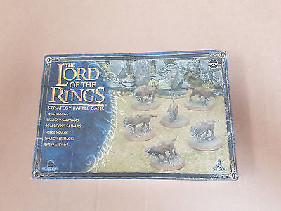 The Lords of The Rings Strategy Battle Game Wild Wargs figures