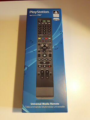 Playstation 4 PS4 Official Licensed Product Universal Media Remote New Sealed