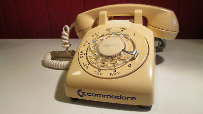 Vintage Commodore Northern Telecom rotary phone very rare tested working