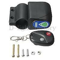 Bar Mounted Wireless Remote Control Alarm For Motorcycles, Mobility Scooters