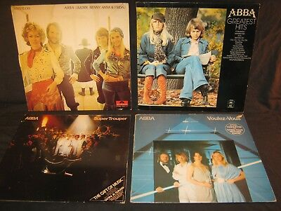 ABBA Vinyl Records Job Lot x 7 - Pop/Disco/Rock