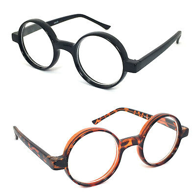 ba5dd09a881a 1 or 2 Pair Thickly Frame Round Oval Reading Glasses Readers Black or  Tortoise