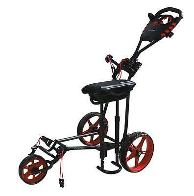 Walkinshaw Racer 4.0 Golf Buggy  - Black/red - New - Awesome Value!!