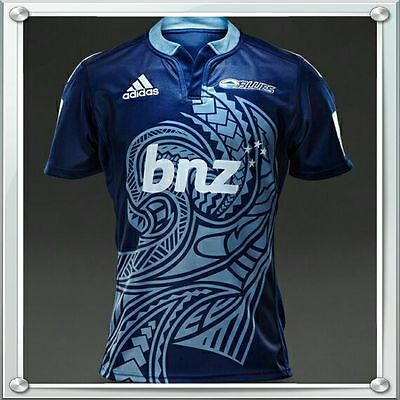 AUCKLAND BLUES 2015 SUPER LEAGUE RUGBY JERSEY.  BNWT! Size: SMALL