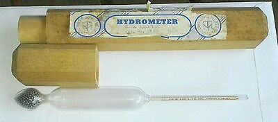 Townson & Mercer  - Hydrometer in wooden case