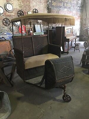 Antique / Vintage Original Surrey Atlantic City Boardwalk Push Cart