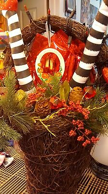 wizard of oz halloween bouquet basket/handmade.