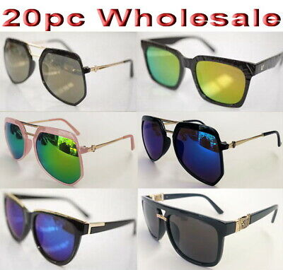 20pc Wholesale Bulk lots Women Lady Outdoor Sunglasses Mixed