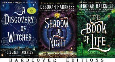 The All Souls Trilogy Series Collection Set Books 1-3 by Deborah Harkness New
