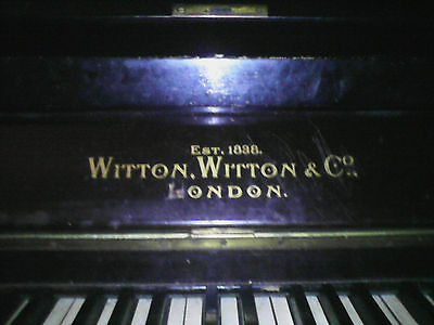 Pianoforte Witton & Witton EST 1838