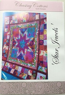 Star Jewels quilt pattern by Chasing Cottons