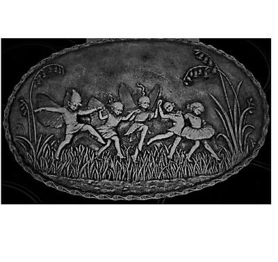 Oval Fairy Pixie Wall Plaque Latex Craft Mould, Art & Crafts Hobby Business