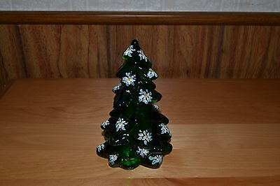 Mosser Hunter Green Decorated Christmas Tree