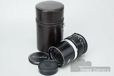 Minolta MC Rokkor PF 135mm f/2.8 f2.8 Manual Focus Prime Lens, Minolta MD Mount