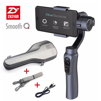 Zhiyun Smooth-Q Handheld 3Axis Handheld Gimbal Stabilizer for Smartphone+Bag