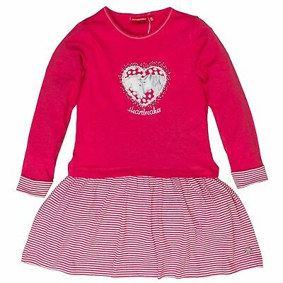 Salt And Pepper Madchen Baby Shirt Kleid Mit Punkten Love