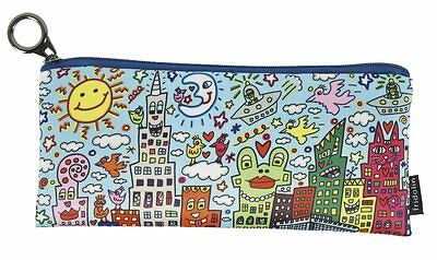 "James RIZZI: Stifte Mäppchen Etui ""MY NEW YORK CITY"" nach 3D Werk, NEU, 1. Wahl"