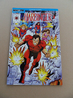 Harbinger 9 . Unity X-Over / Simonson Cover . Valiant 1992 . VF- minus