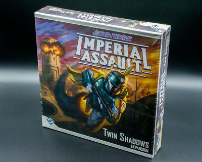 Star Wars Imperial Assault Game Twin Shadows Expansion - Aus Stock