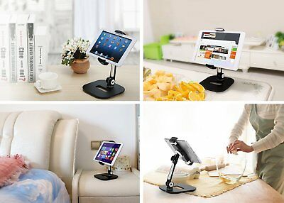 Tablet Phone Stand 360 Degree Foldable Desktop Cell Phone Holder Projector Stand