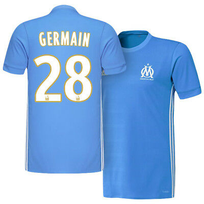 Adults Small Olympique de Marseille Away Shirt 2017-18 - Germain 28 MA1