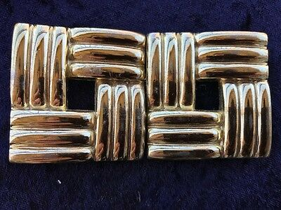 Vintage Gold Belt Buckle
