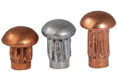 M2 M2.5 M3 Red Copper/Aluminum Domed Knurled Round Head Solid Rivets Knurl Rivet