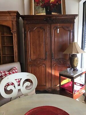 Fabulous 19th Century French Armoire inside mirrored bar beautifully carved