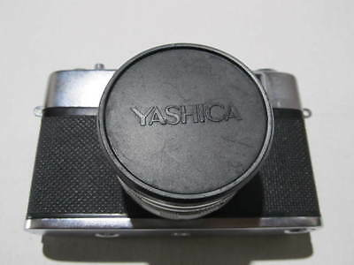 Vintage Yashica Minister Iii Camera With Case **** Please Read ****