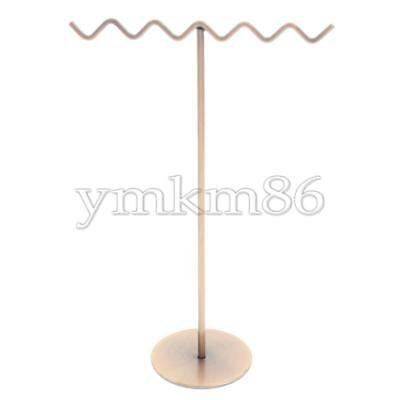 1Pcs Jewelry Display Stand Holder Necklace Bracelet Hanging Rack Metal Organizer