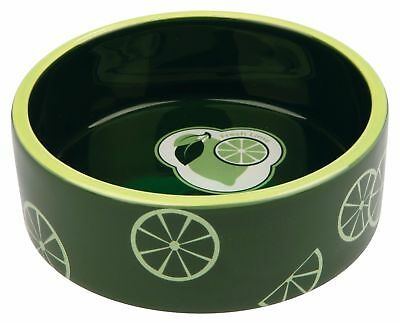 Trixie Fresh Fruits Ceramic Bowl for Dogs or Cats Food Water Dish 0.8L 16 cm