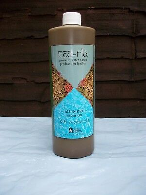 TANDY LEATHER DYE  ECO-FLO ALL IN ONE STAIN AND FINISH  PRAIRE TAN  1L  32oz