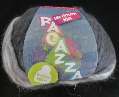 (99 €/kg): 700 Gramm Ragazza Lei Color Mix, Lana Grossa, Farbe 256 #1929