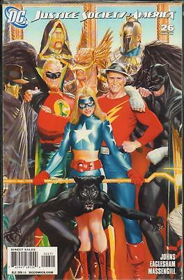 Justice Society Of America #26 (2009) 1St Print Bag & Boarded Dc Comics