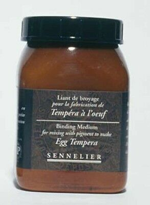 Sennelier Egg Tempera Binding Medium 200ml Excellent Quality (Combined Postage)