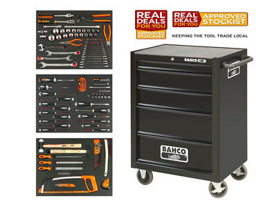 Bahco XMS17CABINET Rolling Tool Cabinet - With FULL TOOL KIT! Snap On (Bahco)