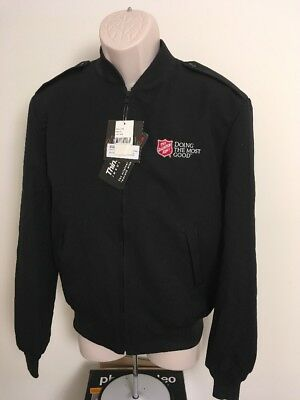 Salvation Army Doing the Most Good Bomber JacketThinsulate Lining Removable 38