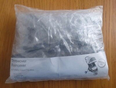 Throwover Raincover For Baby Jogger City Mini Pushchair- Barely Used