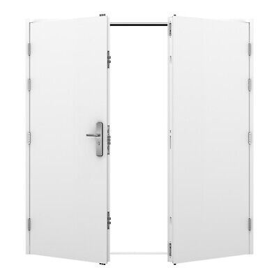 Double Steel Door - Latham's Multi Point Locking High Security Door (21 Locks)