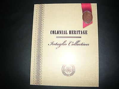 Australia colonial heritage intaglio collection-collector pack- only 380 issued