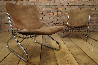 60er space age lounge sessel easy chair clubsessel vintage for Sessel wildleder