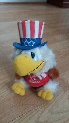 Sam The Olympic Eagle - Vintage 1984 Olympic Souvenir Toy