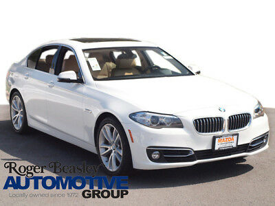 2015 BMW 5-Series Base Sedan 4-Door 2015 BMW 5 Series 535d NAV REAR CAM LEATHER SUNROOF DIESEL